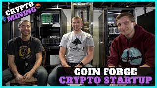 Coin Forge Review - Crypto Mining Start-up based in Annandale, Virginia - ETH/XMR Miners