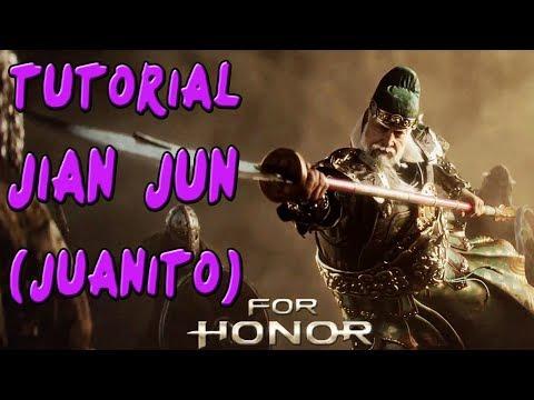 FOR HONOR | GUIA TUTORIAL CHINA JIANG JUN (JUANITO) | COMBOS Y TRUCOS |GAMEPLAY ESPAÑOL