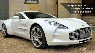 Top 10 Sports Cars Most Expensive 2012