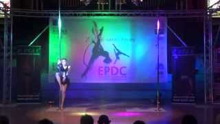 Natasha Hull - SECOND Advanced Pole - Emma's Pole Dancing Championship 2014