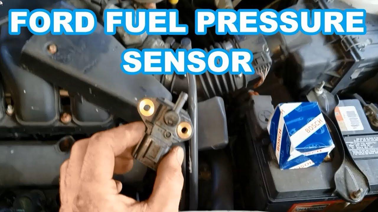 FORD Fuel Pressure Sensor REPLACEMENT p0193 Escape Taurus Explorer 3 0 4 0  mercury sable