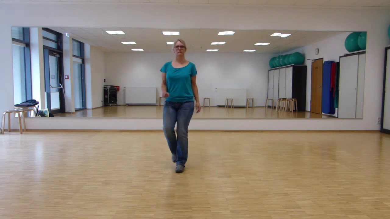 Line-Dance Kurs Anfänger: Before, 2. Teil, Tanz zur