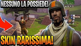 LA SKIN CHE NESSUNO DI NOI POSSIEDE su Fortnite Battle Royale