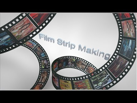 How To Animate Multi Shader Film Strip In Cinema 4D Tutorial