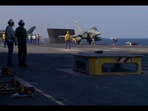 สหรัฐถล่มรถน้ำมันไอเอสในซีเรีย-ฝรั่งเศสโจมตีทางอาศ
