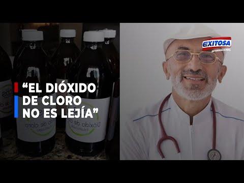 """Pérez-Álbela sobre dióxido de cloro: """"No tiene nada que ver con la lejía"""""""