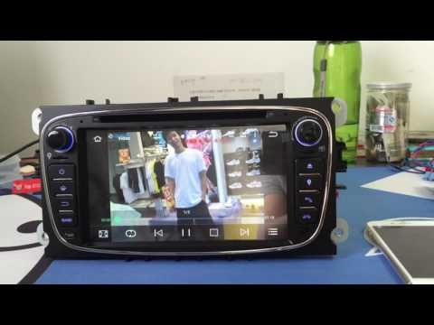 ZK-5709F 7 Inch Mondeo Focus Android 5.1 Car DVD DAB+