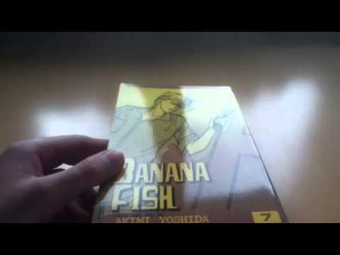 Banana Fish Manga Unboxing