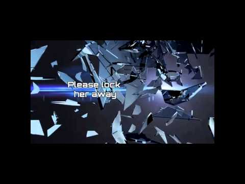 """Shatterglass [OFFICIAL LYRICS VIDEO] for 'Psycho Girlfriend"""""""