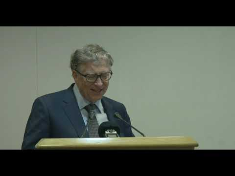 Mr. Bill Gates, Co-Chair, Bill and Melinda Gates Foundation speech at ICMR New Delhi