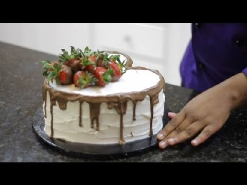 How to decorate a heart cake for him cake decorating - How to decorate a heart cake ...