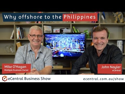 Why offshore the Philippines with Mike O'Hagan