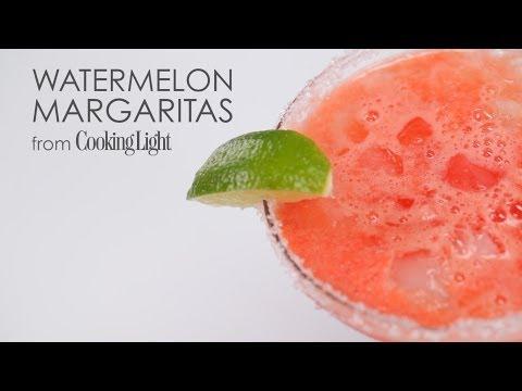 How to Make 5-Star Watermelon Margaritas | MyRecipes