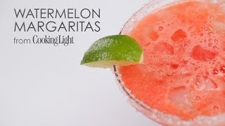 How To Make 5-star Watermelon Margaritas | Myrecipes