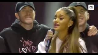 Somewhere Over The Rainbow - Ariana Grande Live At One Love Manchester