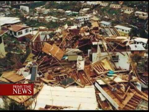 Hurricane Irma Lays Waste To Antigua And Barbuda-TVJ Prime Time News-September 6 2017