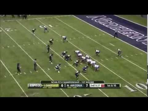 Zach Zenner vs Northern Arizona (2013)