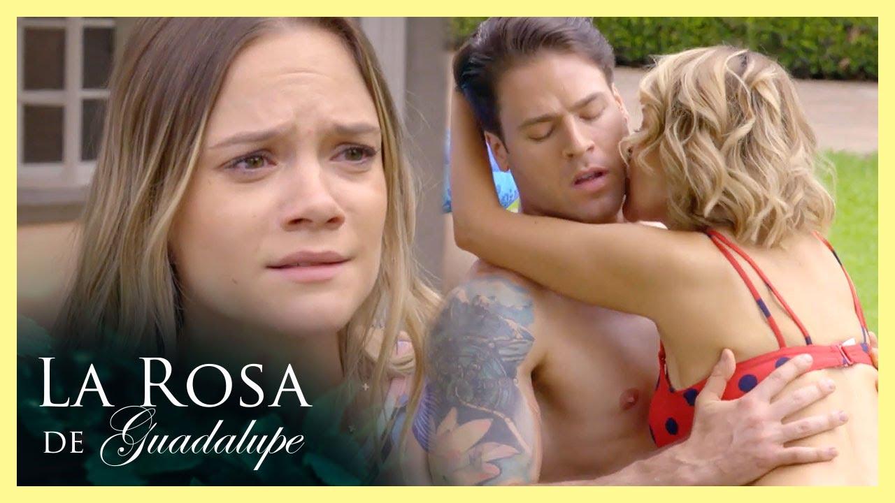 ¡Regina encuentra a Diego con su jefa! | La fantasía de la jefa | La Rosa de Guadalupe