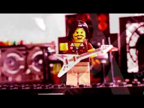 LEGO rock music video - Frail Hurricane - Hats Off Gentlemen It's Adequate