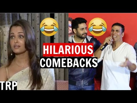 8 Funniest & Most Savage Interview Comebacks By Bollywood Celebrities