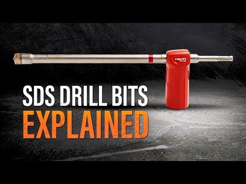SDS Drill Bits Explained