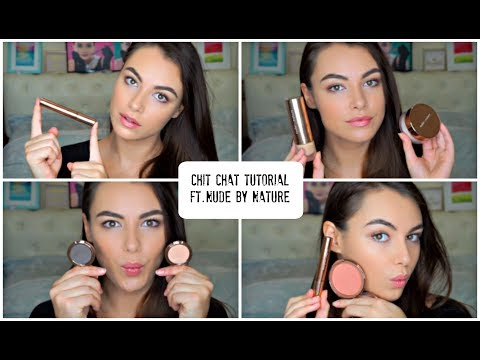 Chit Chat Tutorial - Nude By Nature| Cruelty Free