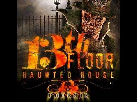 Behind The Screams 13Th Floor Haunted House Arizona   YouTube
