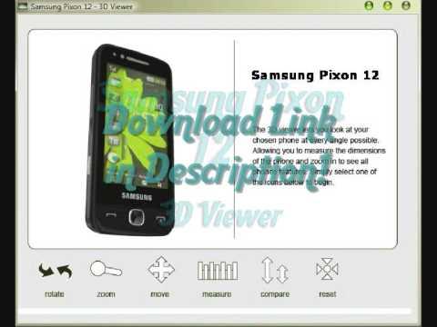 3D Phones - Samsung Pixon 12