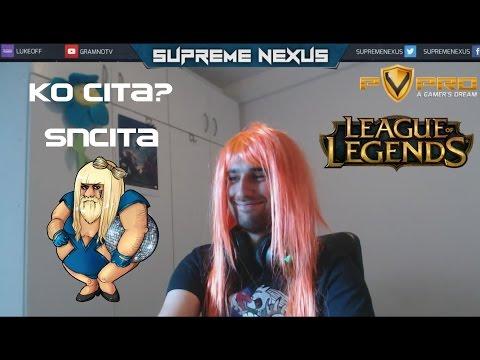 SupremeNexus Najbolji Momenti 3 - Ljupka SNcita - Gragas Cosplay
