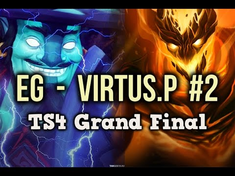 EG vs VP Highlights The SUmmit 4 GRAND FINAL Game 2 Dota 2