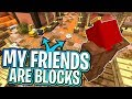 My Friends Have Turned into BLOCKS !!! (Best Game Ever)