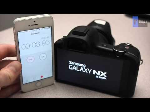 Samsung Galaxy NX Startup Time