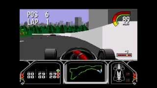 Newman-Haas Indy Car Racing: Featuring Nigel Mansell ... (Sega Genesis)