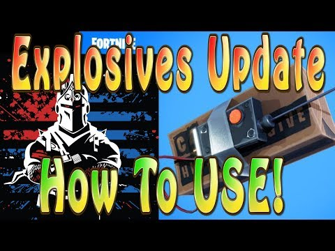 How to Use C4 in Fortnite - Solo Win with Remote Explosives Update | Fortnite Xbox No Commentary