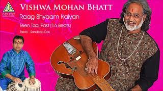 Pandit Vishwa Mohan Bhatt | Raag Shyaam Kalyan (Teen Taal Fast) | Live at Saptak Festival