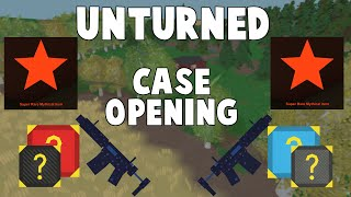 Unturned Mystery Box Opening | 2 MYTHICALS!!!