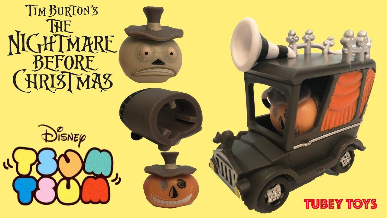 Disney Nightmare Before Christmas Tsum Tsum Set Convention Set Face Changing Mayor Tsum Jakks