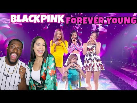 BLACKPINK - Forever Young Live COACHELLA |REACTION|