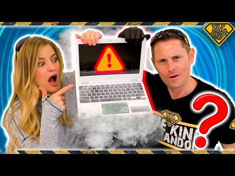 Laptop vs Liquid Nitrogen