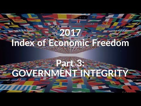 2017 Index of Economic Freedom_Part 3: Government Integrity