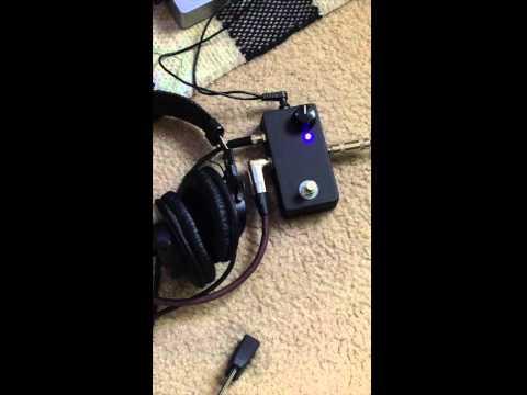 Saturnworks Headphone Amp Guitar Pedal Demo