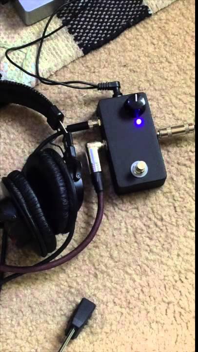 saturnworks headphone amp guitar pedal demo youtube. Black Bedroom Furniture Sets. Home Design Ideas