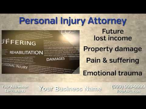 business videos commercials for sale / lawyer