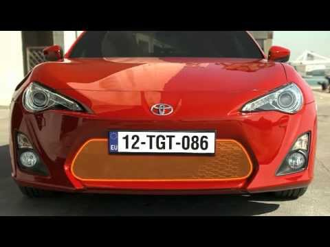 Toyota GT86 Technology & Design Details