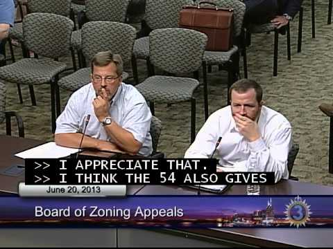 06/20/13 Board of Zoning Appeals Meeting