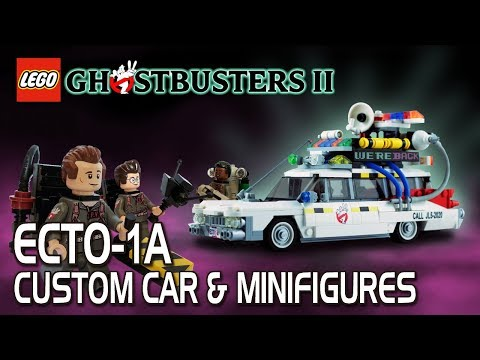Lego Ghostbusters Custom Ecto 1a Minifigures Ghostbusters 2