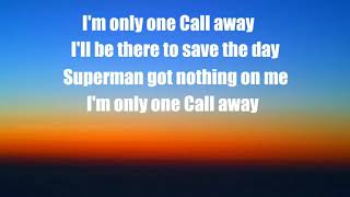 Charlie Puth - One Call Away (Lyric video)