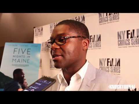 David Oyelowo & Maris Curran Talk 'Five Nights in Maine'