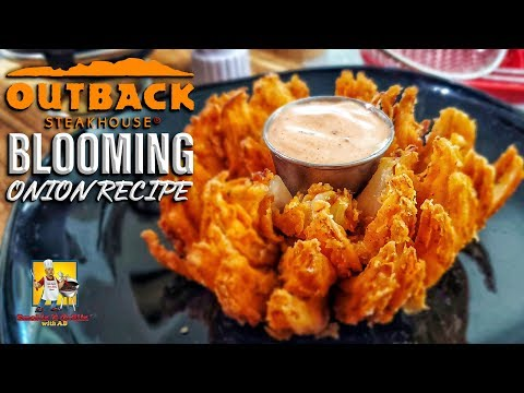 Outback's Blooming Onion and Dipping Sauce | Copycat Recipe