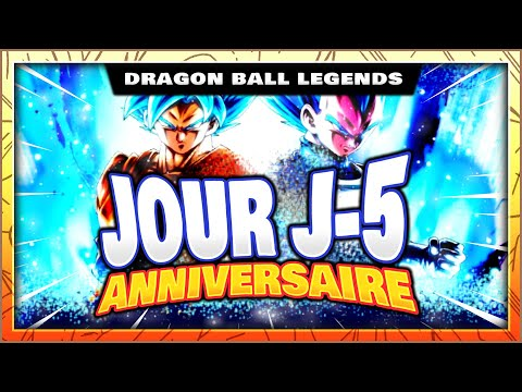 GOKU + VEGETA SSJ BLUE AVEC VEGETTO SSJ OU F2P ET SHALLOT SSJ2 ! ANNIVERSAIRE DRAGON BALL LEGENDS FR